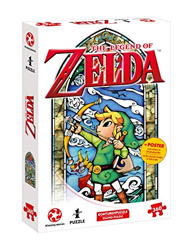 Winning Moves Puzzle Zelda Link-Hero's Bow, 360 Piezas
