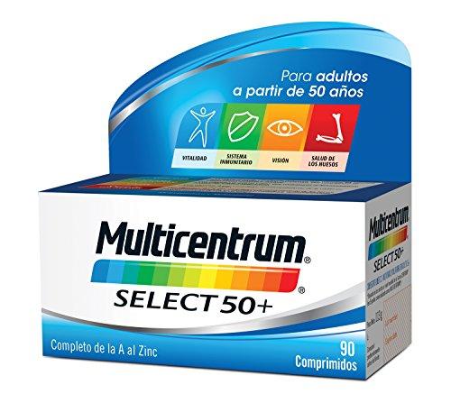 Multicentrum Adulto 50+ Complemento Alimenticio con 13 Vitaminas y 11 Minerales   Con...