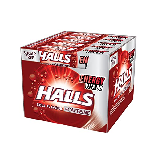 Halls Cola - Caramelo duro - Caja con 20 Sticks de 32 g