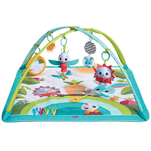 Tiny Love Gymini Sunny Day Gimnasio para bebés, Manta de actividades para el...
