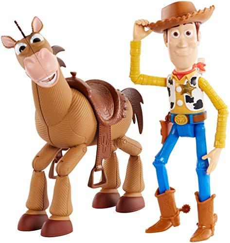 Disney Toy Story 4 Pack de aventuras de Woody y Perdigón, juguetes niños + 3 años...