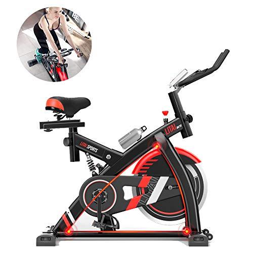Xb Bicicleta De Ejercicio para Ciclismo Indoor, Bicicleta De Spinning, Sensores De...