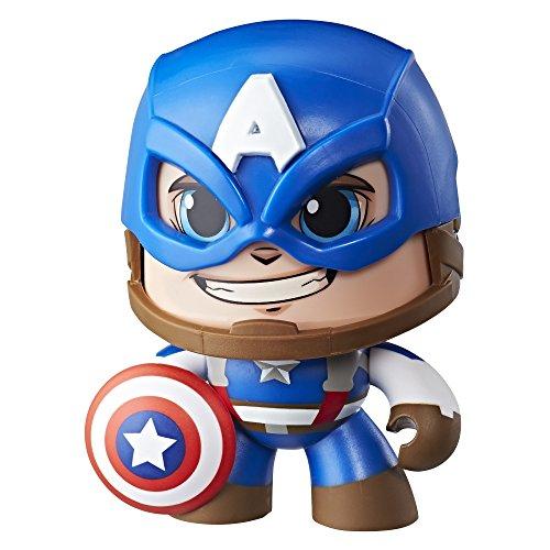 Mighty Muggs Figura coleccionable de Marvel, Capitán América, multicolor, Estándar...