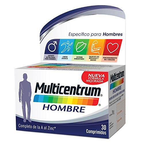 Multicentrum Hombre Complemento Alimenticio Multivitaminas con 13 Vitaminas y 11...