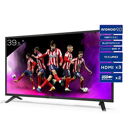 TD Systems K40DLJ12FS - Televisores Smart TV 39,5 Pulgadas Full HD Android 9.0 y...