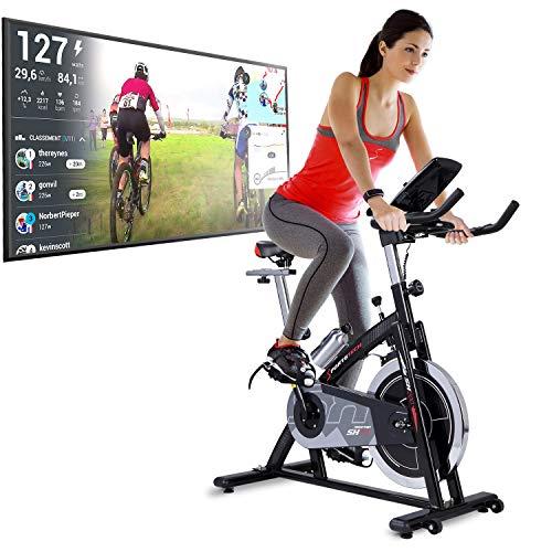 Sportstech Bicicleta Estática   Bicicleta Fitness con Volante de 22 kg - Eventos en...