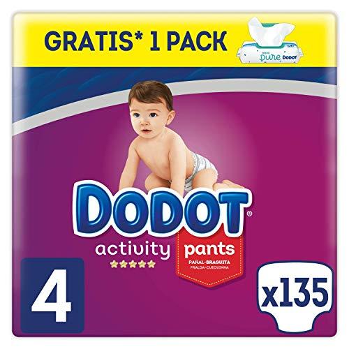 Dodot Activity Pants - Pañal-Braguita, 9-15kg + Dodot Aqua Pure Toallitas para...