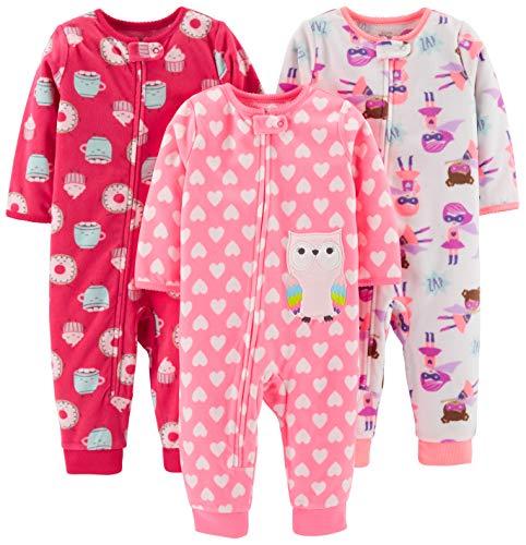 Simple Joys by Carter's - Pijama de una pieza - para niña multicolor...