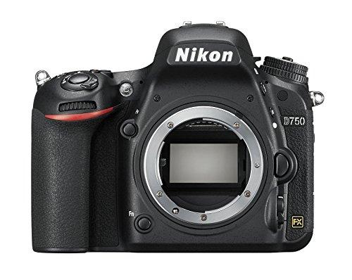 Nikon D750 - Cámara réflex digital de 24.3 Mp (pantalla 3.2', vídeo Full HD),...