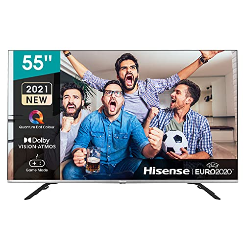 Hisense 55E76GQ QLED 2021 Gaming Series, 55 pulgadas 4K UHD Dolby Vision HDR Smart TV...