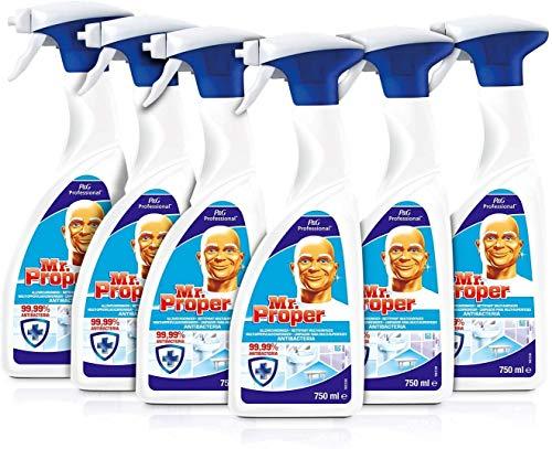 Don Limpio - Professional Limpiador y Desinfectante Multisuperficies, 6 unidades de...