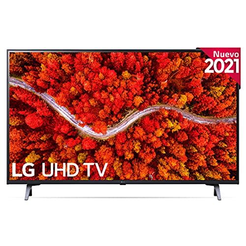 LG 43UP8000-ALEXA 2021-Smart TV 4K UHD 108 cm (43') con Procesador Quad Core, HDR10...