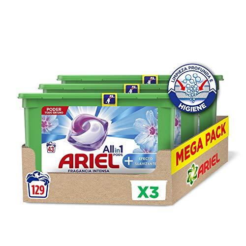 Ariel Allin1 Pods Suavizante - Detergente en cápsulas para la lavadora, efecto...