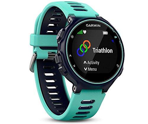 Garmin 735XT Forerunner Reloj multisport con GPS, Unisex adulto, Azul (Frost Blue), M