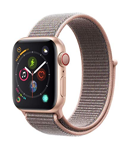 Apple Watch Series 4 (GPS + Cellular) con caja de 40 mm de aluminio en oro y...