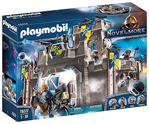Playmobil 70222 Fortaleza Novelmore con Lanzapiedras y Cañón de Agua, para niños...