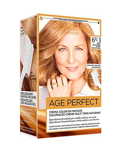 L'Oréal Paris Age Perfect Coloración permanente, Tono: 61/2.3