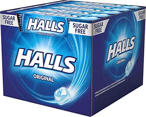 Halls Eucalipto - Caramelo duro - Caja con 20 Sticks de 32 g