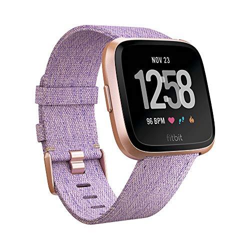 Fitbit Versa - Reloj Deportivo Smartwatch - Edición Especial - Unisex Adulto, Morado...