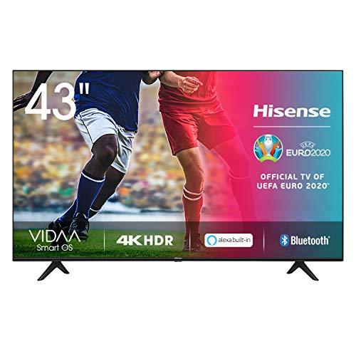 Hisense 43AE7000F UHD TV 2020 - Smart TV Resolución 4K con Alexa integrada,...