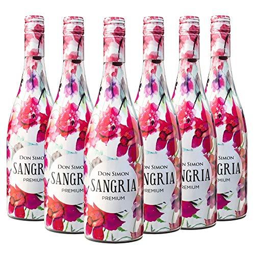 Don Simon Sangría Premium - Pack de 6 Botellas x 750 ml